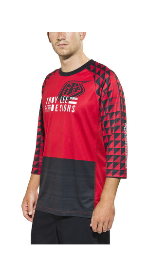 Troy Lee Designs Ruckus Jersey Men Formation Red
